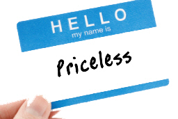 Hello My Name Is Priceless